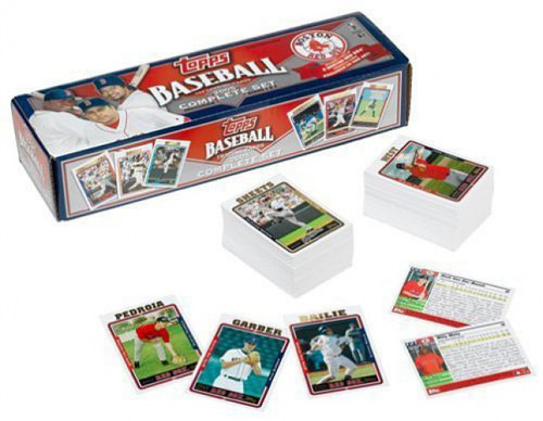 MLB Boston Red Sox 2005 Topps Baseball Cards Complete Set [Boston Red Sox]