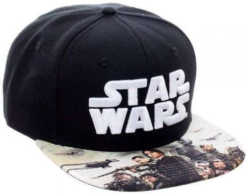 Star Wars Rogue One Sublimated Snapback Cap Apparel