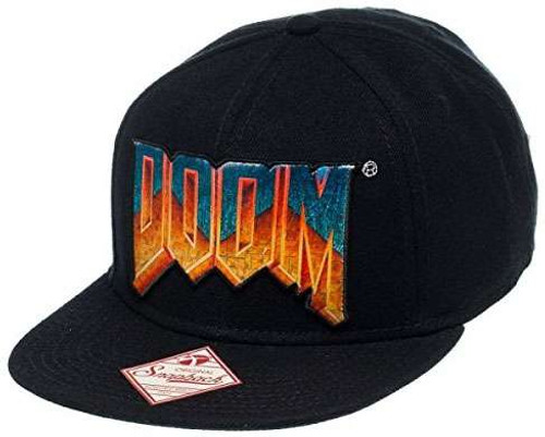 Doom Logo Snapback Cap Apparel