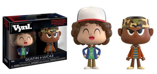 Funko Stranger Things Vynl. Dustin & Lucas Vinyl Figure 2-Pack