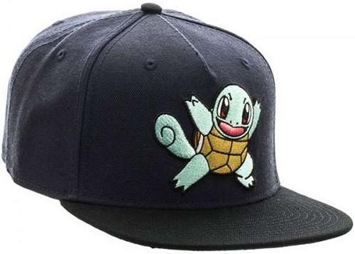 Pokemon Squirtle Color Block Snapback Cap Apparel