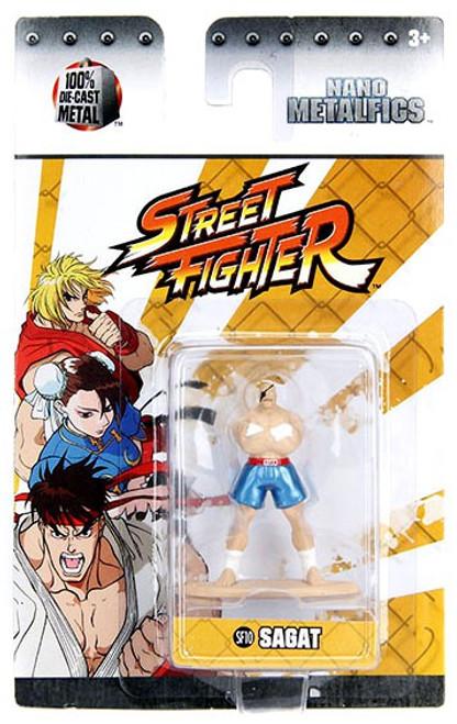 Street Fighter Nano Metalfigs Sagat 1.5-Inch Diecast Figure SF10