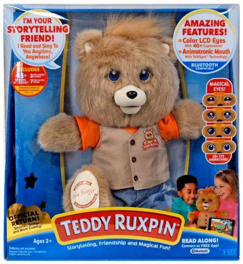 Teddy Ruxpin Electronic Plush Figure [Blue Jeans]
