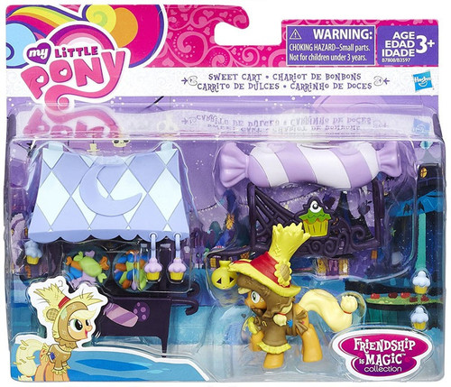 My Little Pony Friendship is Magic Character Collection Sets Sweet Cart Figure Set