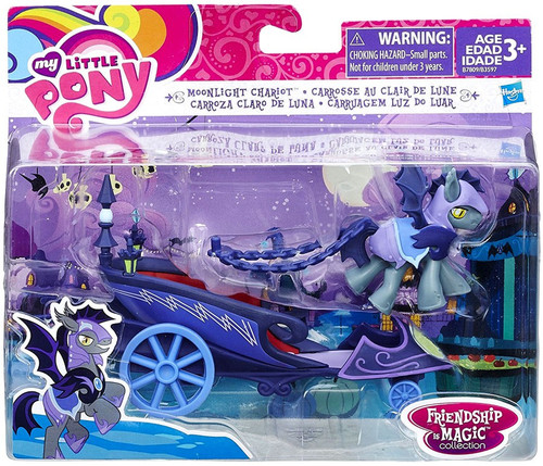 My Little Pony Friendship is Magic Character Collection Sets Moonlight Chariot Figure Set