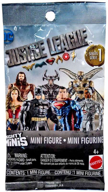 DC Justice League Movie Mighty Minis Series 1 Mystery Pack [1 RANDOM Figure]