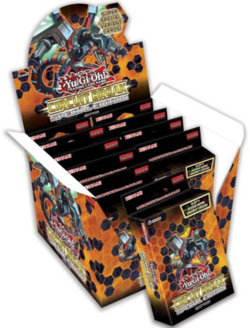 YuGiOh Trading Card Game Circuit Break Special Edition DISPLAY Box [10 Units]