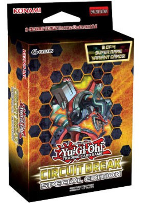 YuGiOh Trading Card Game Circuit Break Special Edition [3 Booster Packs & 1 Random Promo Card!]