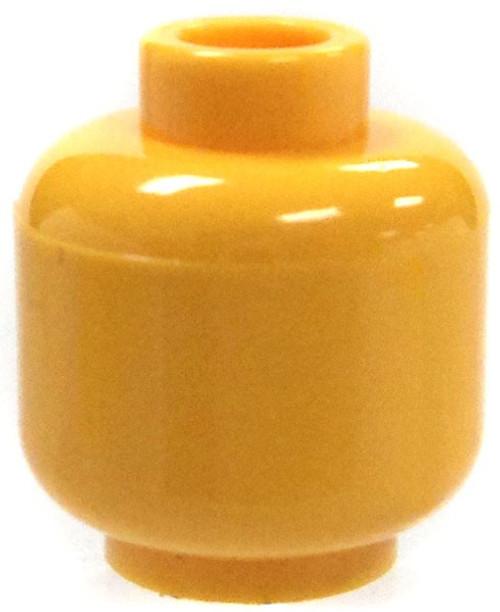 LEGO Solid Yellow Head Head [Loose]