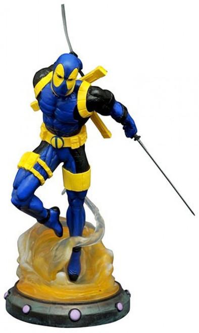 Marvel Gallery Deadpool Exclusive 9-Inch PVC Figure Statue [X-Men Uniform]