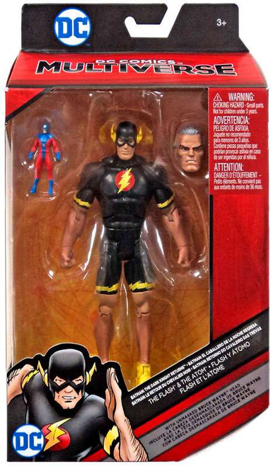 Batman: The Dark Knight Returns DC Comics Multiverse The Flash & The Atom Exclusive Action Figure
