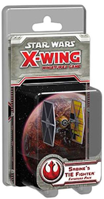 Star Wars X-Wing Miniatures Game Sabine's TIE Fighter Expansion Pack