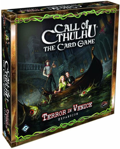 The Card Game Call of Cthulhu LCG Terror in Venice Expansion Pack