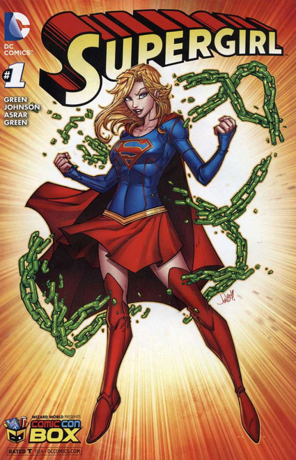Supergirl #1 Variant Cover B Comic Book [Jonboy Meyers]