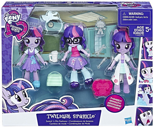 My Little Pony Equestria Girls Switch 'n Mix Fashions Twilight Sparkle 4.5-Inch Figure