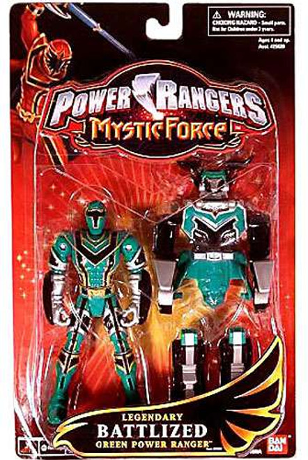 Power Rangers Mystic Force Legendary Battlized Green Power Ranger Action Figure [Damaged Package]