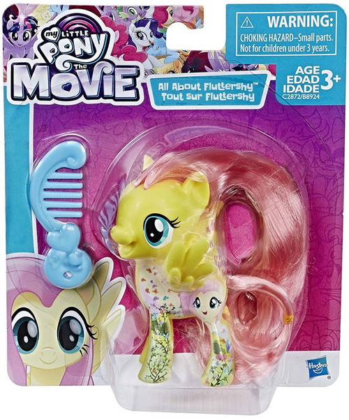 My Little Pony The Movie All About Fluttershy Mini FIgure