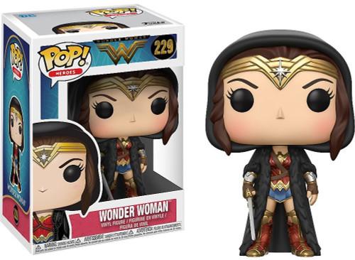 Funko DC Wonder Woman Movie POP! Movies Wonder Woman Vinyl Figure #229 [Diana in Cloak]