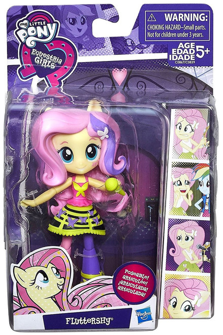 My Little Pony Equestria Girls Minis Fluttershy 4.5-Inch Doll