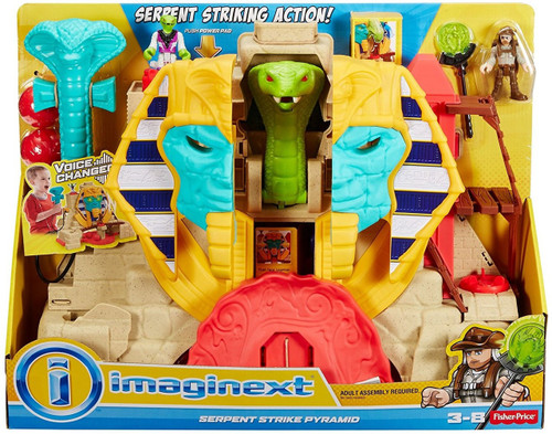 Fisher Price Imaginext Serpent Strike Pyramid Playset