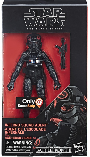 Star Wars Battlefront II Black Series Inferno Squadron Agent Exclusive Action Figure