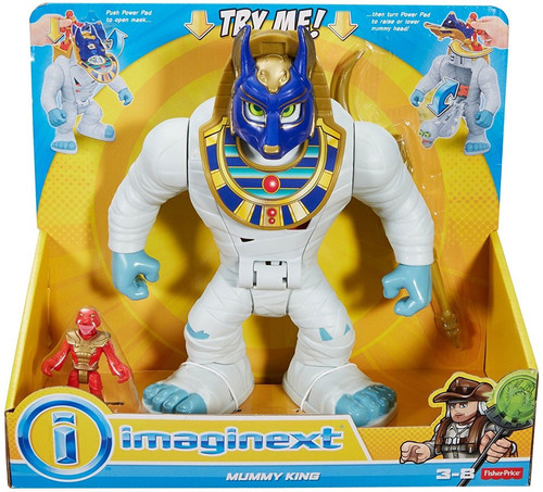 Fisher Price Imaginext Mummy King Playset