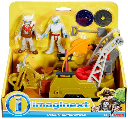 Fisher Price Imaginext Desert Super Cycle Playset
