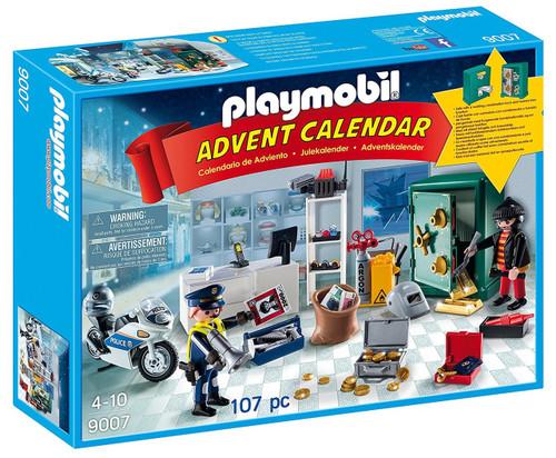 Playmobil Advent Calendar Jewel Thief Police Operation Set #9007