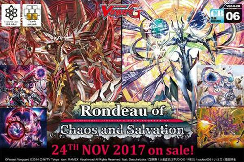Cardfight Vanguard G Rondeau of Chaos & Salvation Clan Booster Box