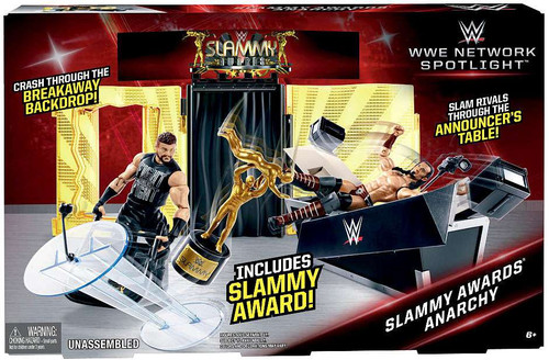 WWE Wrestling Network Spotlight Slammy Awards Anarchy Exclusive Playset