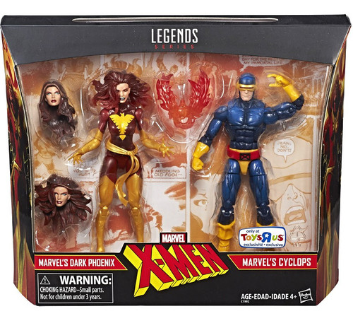X-Men Marvel Legends Dark Phoenix & Cyclops Exclusive Action Figure 2-Pack