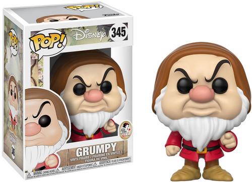 Funko Snow White POP! Disney Grumpy Vinyl Figure #345 [Finger Pointing]
