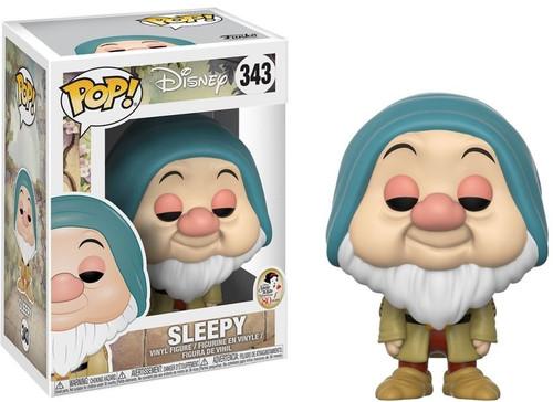 Funko Snow White POP! Disney Sleepy Vinyl Figure #343