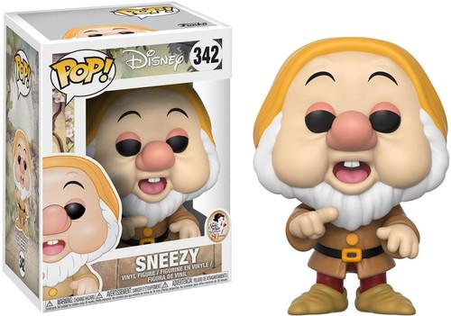 Funko Snow White POP! Disney Sneezy Vinyl Figure #342