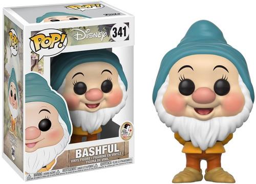 Funko Snow White POP! Disney Bashful Vinyl Figure #341