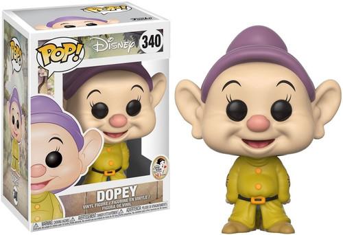 Funko Snow White POP! Disney Dopey Vinyl Figure #340 [With Hat, Regular Version]