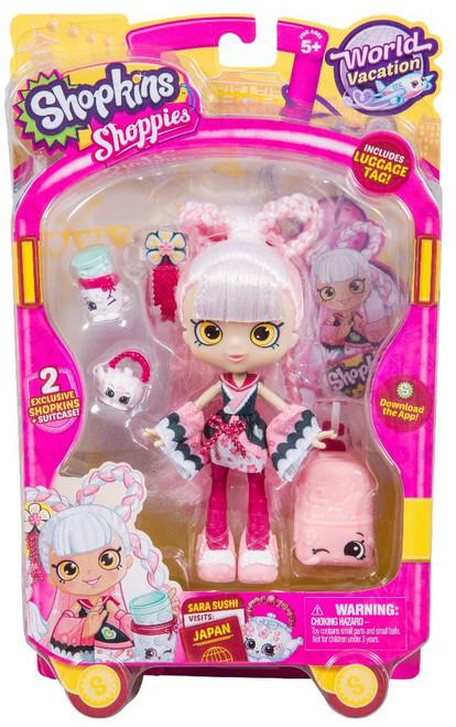Shopkins Shoppies Season 8 World Vacation Sara Sushi Doll Figure [Visits Japan]