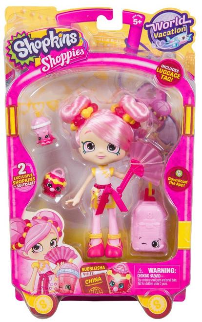 Shopkins Shoppies Season 8 World Vacation Bubbleisha Doll Figure [Visits China]