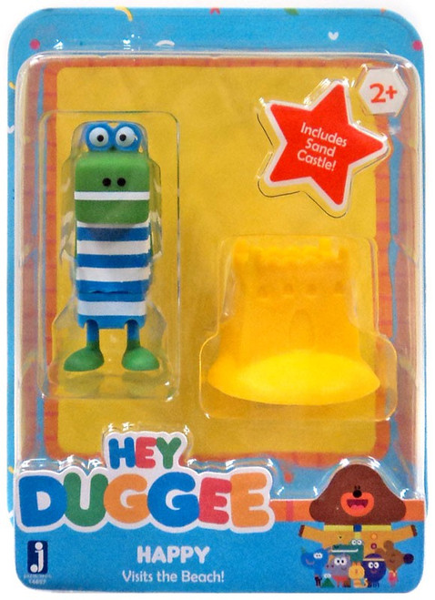 Hey Duggee Happy Visits the Beach Figure