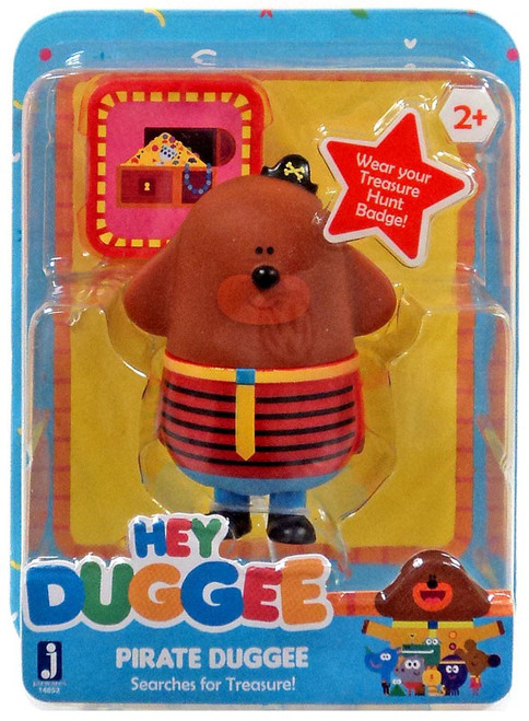 Hey Duggee Pirate Duggee Searches for Treasure Figure