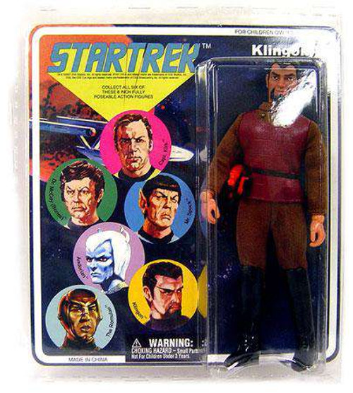 Star Trek The Original Series Cloth Retro Series 1 Klingon Action Figure
