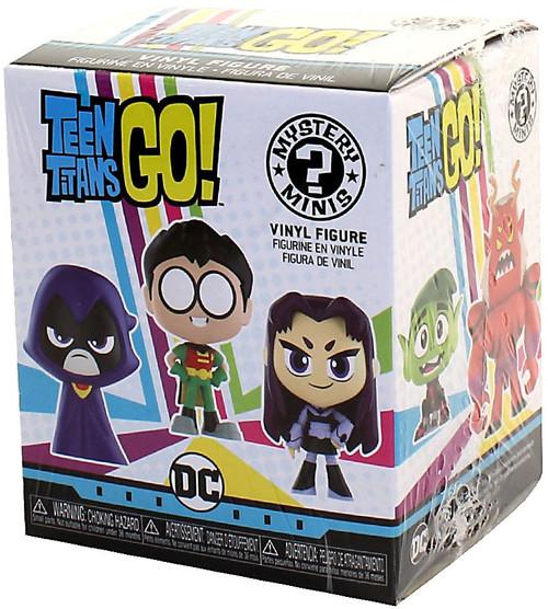 Funko Mystery Minis Teen Titans Go! Mystery Pack [1 RANDOM Figure]