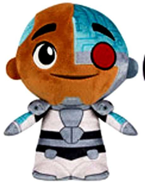 Funko Teen Titans Go! Cyborg 5-Inch Super Cute Plushie
