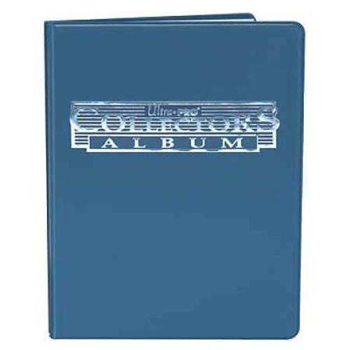 Ultra Pro Card Supplies 9-Pocket Collectors Card Album Portfolio [Blue]