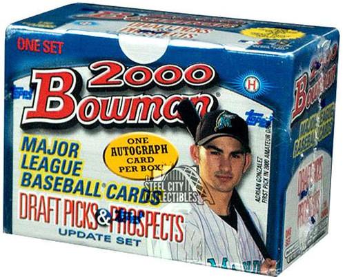 MLB Topps 2000 Bowman Baseball Draft Picks & Prospects Trading Card Update HOBBY Set [1 Autograph!]