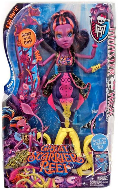 Monster High Great Scarrier Reef Kala Mer'ri 10.5-Inch Doll
