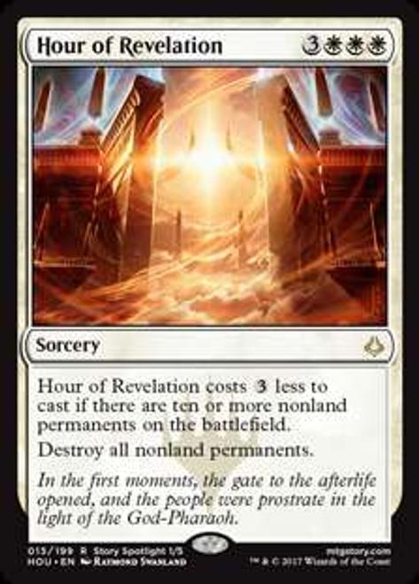MtG Hour of Devastation Rare Foil Hour of Revelation #15