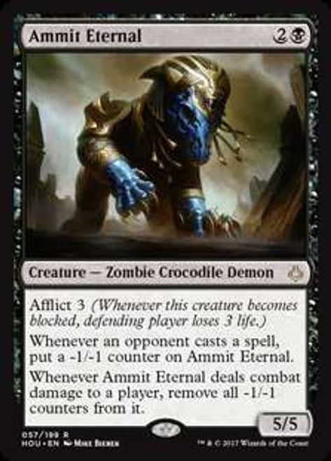 MtG Hour of Devastation Rare Foil Ammit Eternal #57
