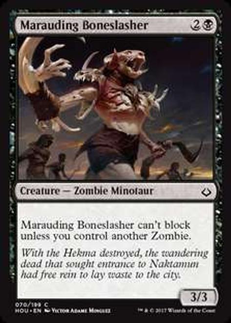 MtG Hour of Devastation Common Foil Marauding Boneslasher #70