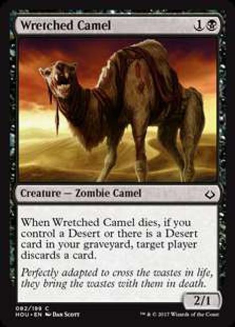 MtG Hour of Devastation Common Foil Wretched Camel #82